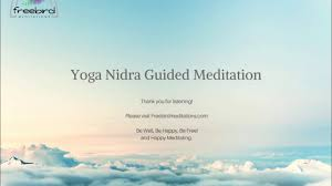 yoga nidra guided tation you