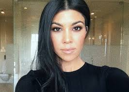 Kourtney Kardashian Wears Akoia Swim Two Piece While At The Beach ...