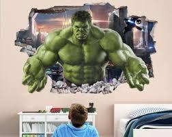 Hulk Wall Decal Etsy