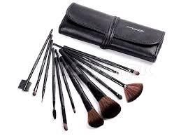 mac 12 pieces makeup brush set in