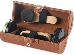 com shoe polish care kit shoe