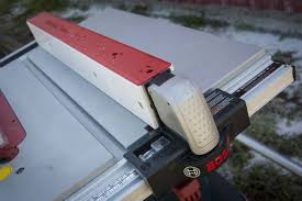 Bosch Table Saw Fence Upgrade