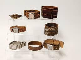 leather wrap bracelets fossil women s