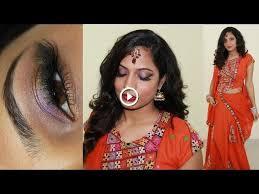 navratri special indian party makeup