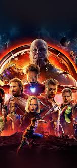 infinity war marvel avengers hero art