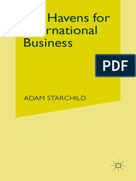 Tax Havens for International Business: Adam Starchild | Income Tax ...