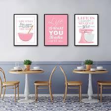 Life Is Short Mix It Up Kitchen Wall Art Stylish Nordic Canvas Prints Nordicwallart Com