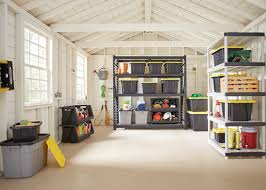 get your garden shed organized with