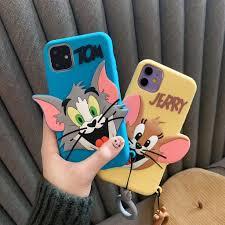 Ốp Lưng Silicone Họa Tiết Mèo Và Chuột Mickey Thời Trang Cho ...
