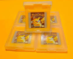 Amazon.com: Pokemon Yellow Special Pikachu Version for Nintendo Game Boy  Color GBA GBC w/ Case (Third Party Game - REMANUFACTURED VERSION): Video  Games