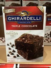 ghirardelli chocolate brownie mix 120