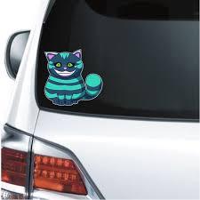 Alice In Wonderland Cheshire Cat Decal Sticker Custom Sticker Shop
