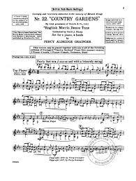 british folk settings from percy