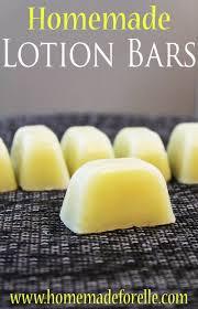 homemade lotion bar recipe homemade