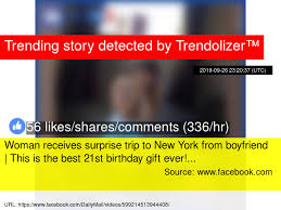 woman receives surprise trip to new