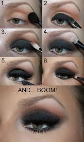 black smokey eye tutorial natural