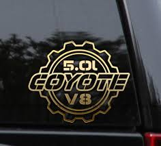 Coyote 5 0l V8 Ford Decal