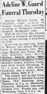 Adeline Walters Guard 1956 - Newspapers.com