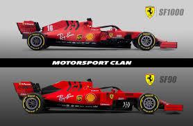 Nuova Ferrari SF1000 VS SF90, cos'è cambiato? Analisi tecnica e ...