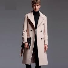 Satın Al Yeni Uzun Stil Yün Erkek Ceket Sonbahar Kış Lüks Kaşmir Düz Renk  Erkek Ceket Ve Mont Artı Boyutu 5XL 6XL Adam Siper, TL951 | DHgate.Comda