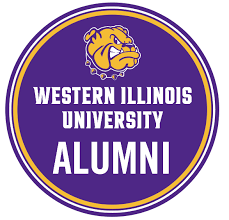Alumni Sticker Western Illinois University Union Bookstore