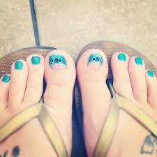 jaw dropping toe nail art