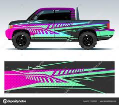 Racing Car Decals Sport Vehicle Vinyl Stickers Vector Set Stock Vector C Microone 210489388
