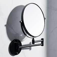 bathroom black mirror wall mounted
