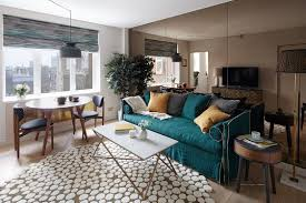 how to decorate a small living room in