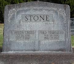Avis Areta Stone (Cross) (1892 - 1957) - Genealogy