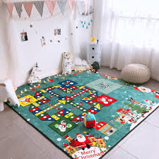 Kids Room Decoration Cartoon Game Area Rug Boys Girls Rug Children Playing Rug Flight Chess Kids Room Decoration Home Big Rug Rug Aliexpress