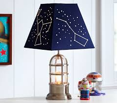 Constellation Shade Kids Lamp Pottery Barn Kids