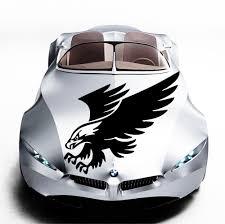 Car Decals Hood Decal Vinyl Sticker Eagle Bird Predator Auto Decor Graphics Os109 Cool Car Stickers Cool Cars Cool Car Accessories