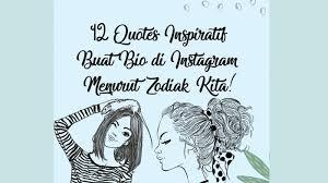 quotes inspiratif yang cocok ditulis di bio instagram