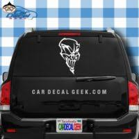 Scary Skull Hands Car Window Laptop Wall Decal Sticker