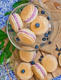 blueberry cheesecake macarons video