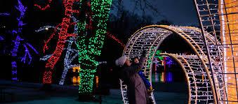 winter festival of lights lighting