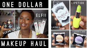 dollar makeup haul with miss