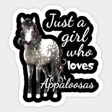who loves appaloosa horses shirt