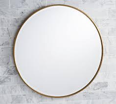 round mirrors pottery barn
