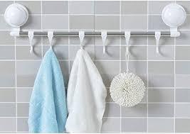 qtqhome towel bar plastic towel rack