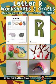 letter r worksheets crafts woo jr