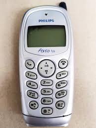 starý mobilní telefon PHILIPS Fisio 120 ...