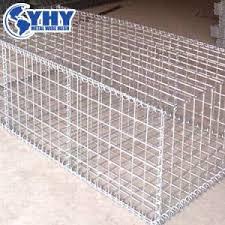 China 2x2 Galvanized Welded Gabion Lowes Iron Wire Mesh Stone Basket For Sale China Gabion Iron Wire Basket 2x2 Galvanized Welded Gabion Wire Mesh