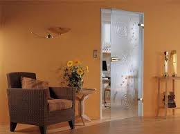 solid glass doors and room dividers