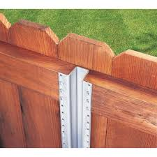 Master Halco 7 Ft 6 In Postmaster 633663 The Home Depot In 2020 Metal Fence Posts Concrete Block Retaining Wall Wooden Fence