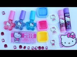 o kitty mega cosmetics set and