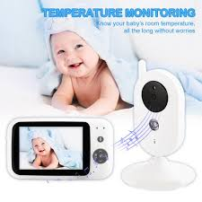 Dishykooker 3 5 Inch Audio Video Receiver Wireless Digital Video Kids Baby Sleeping Monitor Night Vision Temperature Sensor Surveillance Cameras Aliexpress
