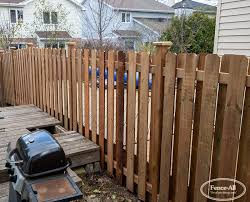 Orleans Wood Fences Products Fence All Ottawa On