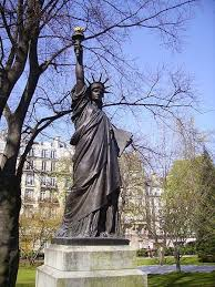the other statue of liberty in paris